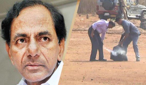 Smoke in Telangana CM K Chandrasekhar Rao's helicopter