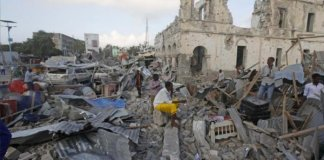 Death toll from Somalia blasts rises to 45 : government official