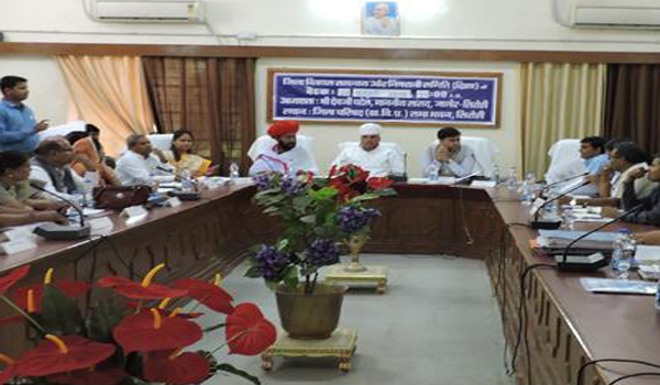 District Coordination Committee meeting held in District Council Auditorium, for the first time, with the appearance of Otaram Devi and the District Chief, together with the District Chief.