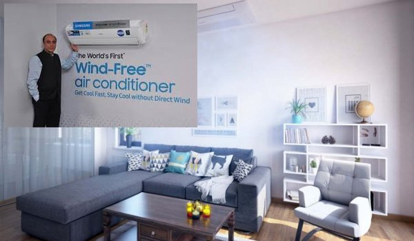 Samsung wind-free air conditioner range launched in india