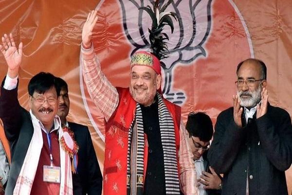 CPI-M's ke gad me aaz BJP ki tazposhi