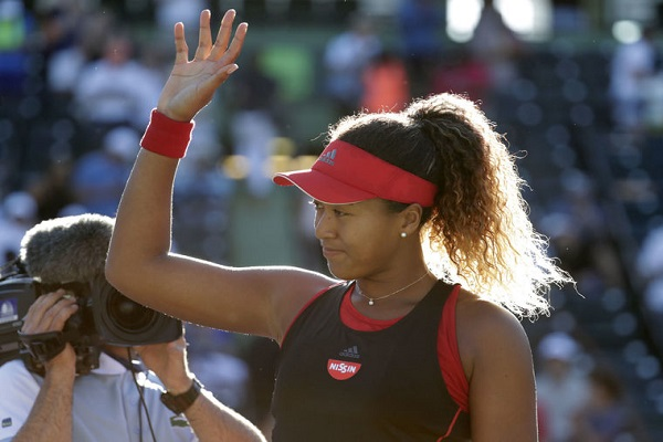 Miami Open Tennis Tournament Osaka has done Serena in the first round