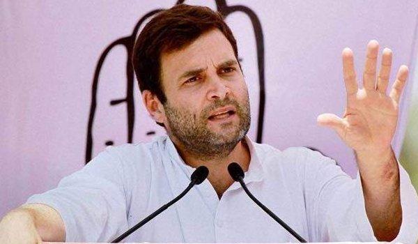 Rahul Gandhi attacks PM Modi over use of NaMo app data