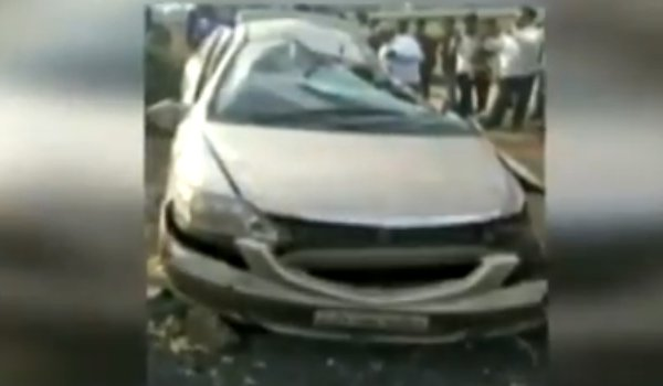 Four killed in car and truck collision in Sabarkantha