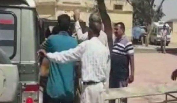 woman threw acid on her ex husband in Jhunjhunu