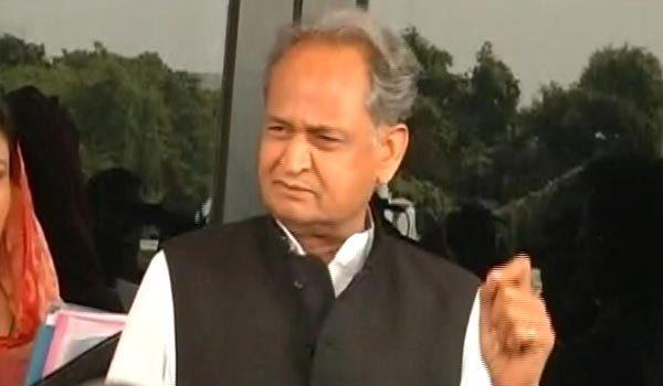 former rajasthan chief minister Ashok Gehlot