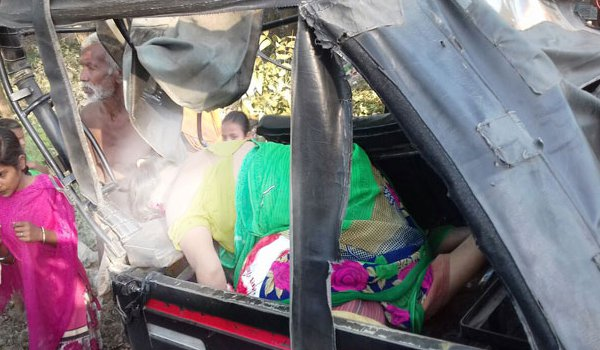 10 killed in truck and auto collision in samastipur