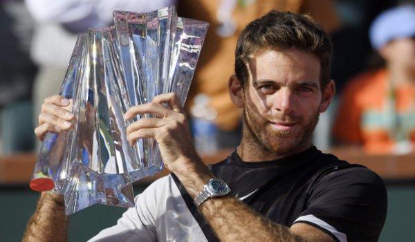 Indian Wells final : Juan Martin del Potro beats Roger Federer