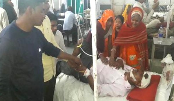 one dead four injured in Car accident in Sawai Madhopur