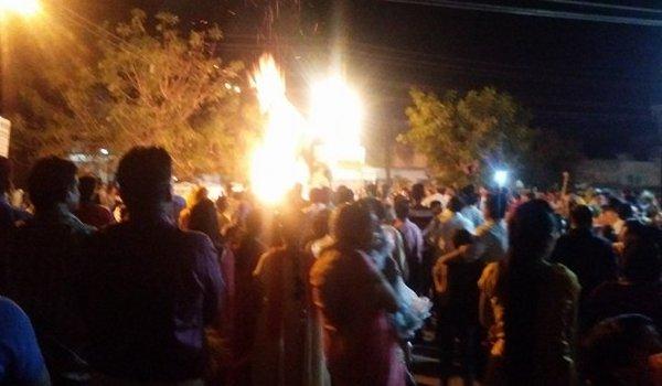 holi celebrations at Housing Board Colony Panchsheel nagar in ajmer