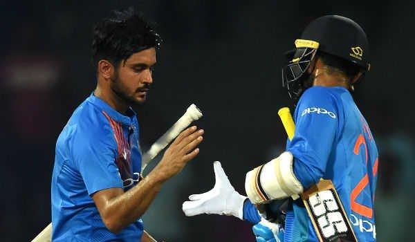 Nidahas trophy tri-series 4th T20 : india beat sri lanka
