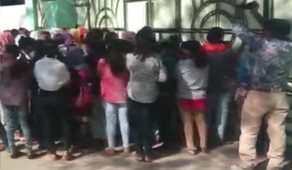NHRC issues notice to madhya pradesh govt over  reported strip search of girls  of Rani Laxmi Bai Hostel of Dr Hari Singh Gour University sagar