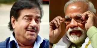 Narendra Modi biopic : BJP leader and veteran actor Shatrughan Sinha is keen to play PM onscreen