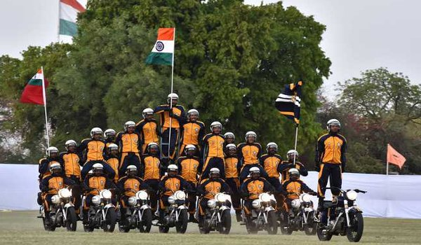 army show on Rajasthan Divas at polo ground in jaipur