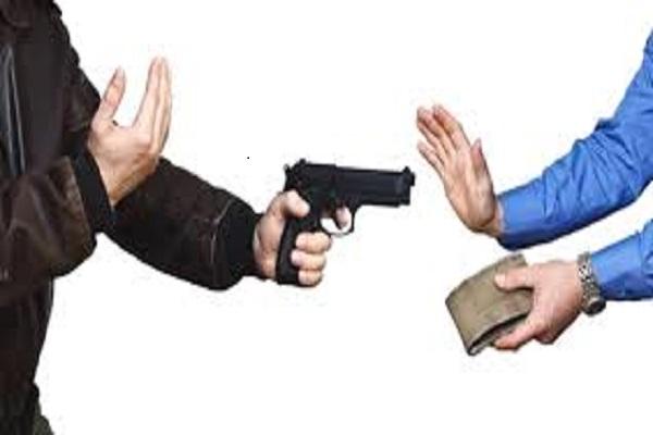 Robbery in Bhilwada