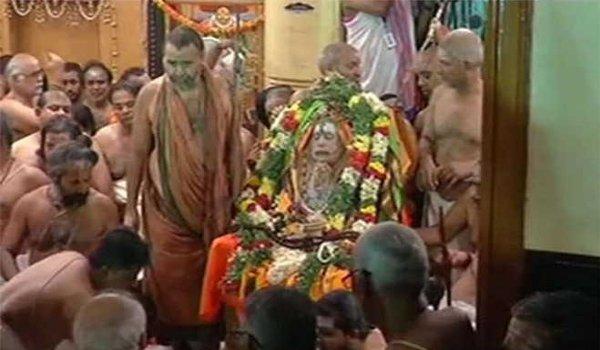Kanchi Mutt Shankaracharya Jayendra Saraswati to be Given Mahasamadhi in Nandavanam