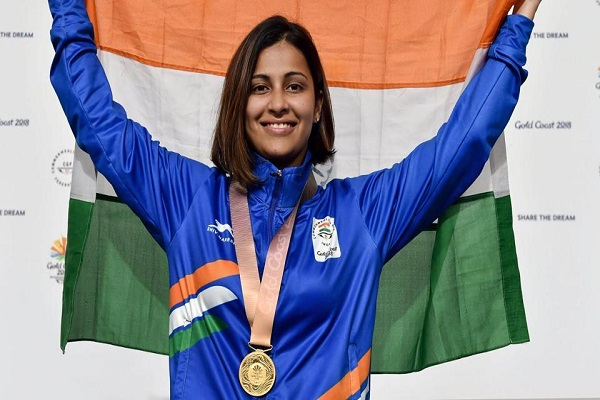 Gold Coast Shooter Heena Sidhu win Golden Medal for India