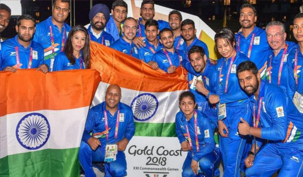india scheduled 21st Commonwealth Games in gold coast on Thursday