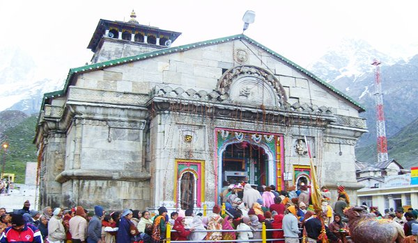 Kedarnath temple to open on sunday for visitors