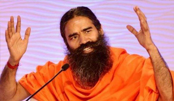 yoga guru Ramdev in jaunpur