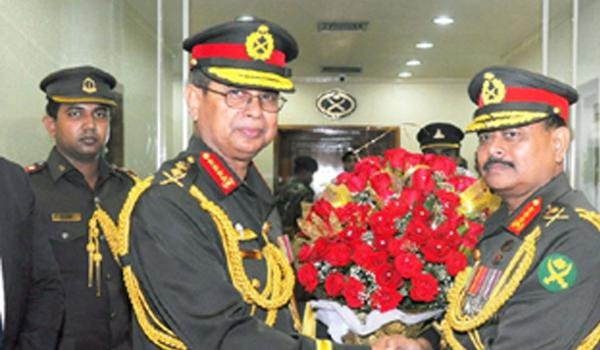 General Aziz Ahmed takes charge as Bangladesh army chief