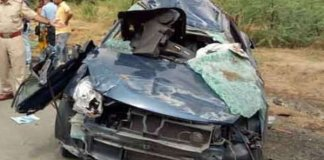 seven of a family killed in road accident in sirohi