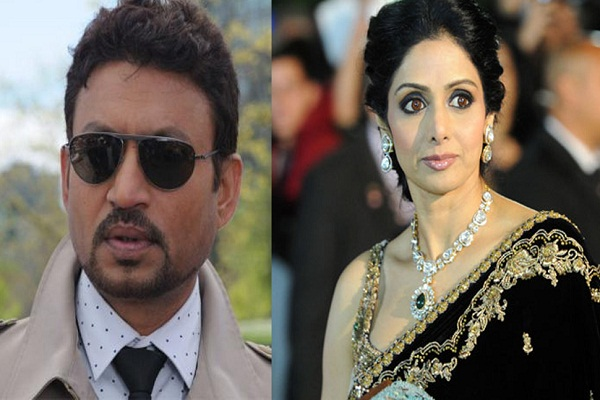 Irrfan and Sridevi Best Actor, Actress Award
