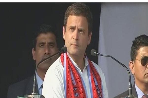 स दिन के अंदर किसानों का कर्जा माफ किया जाएगा: राहुल गांधी