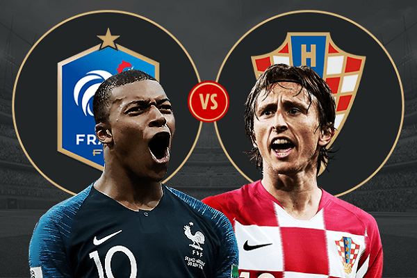 FIFA World Cup titles in France-Croatia