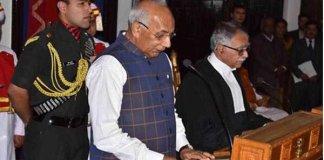 Kaptan Singh Solanki takes oath as Governor of Himachal Pradesh