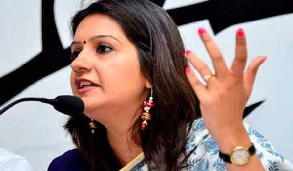 Cops register case over threat to Congress leader Priyanka Chaturvedi