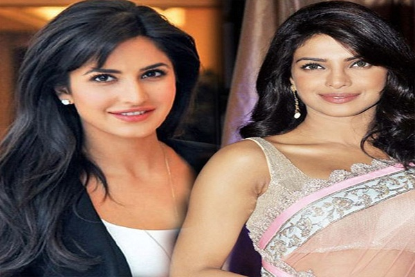 Katrina Kaif and Priyanka Chopra work together on silver screen
