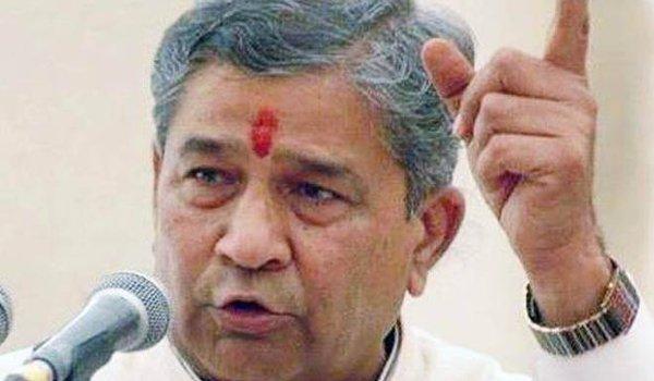 bharat vahini party chief Ghanshyam Tiwari attacks cm vasundhara raje