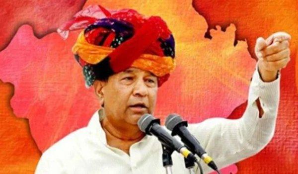 rebel BJP MLA Ghanshyam Tiwari joins bharat vahini party