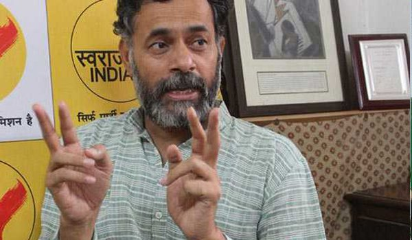 Modi government is targeting my family: Yogendra Yadav