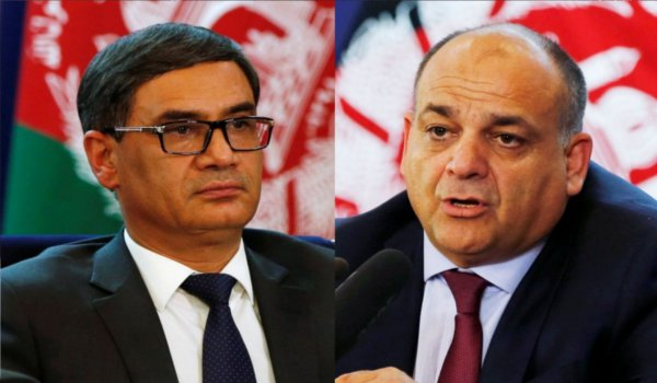 Two ministers and top two security officials resign in Afghanistan