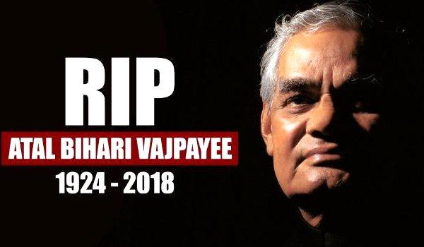india condoles mourn atal bihari Vajpayee