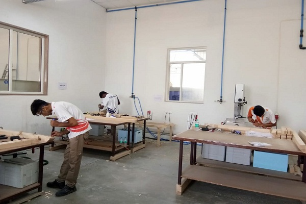 BSDU hosted Euroskills carpentry skill competition in association with NSDC and FFSC