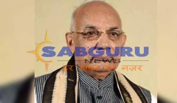haryana governor kaptan Singh Solanki