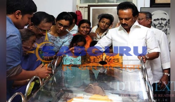 MK Stalin pens emotional for appa