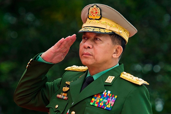 Facebook removed Myanmar army chief several others from the website