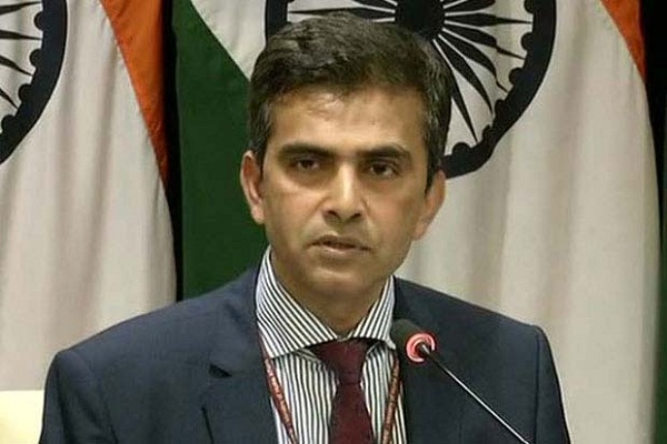 Foreign governments can not accept help India