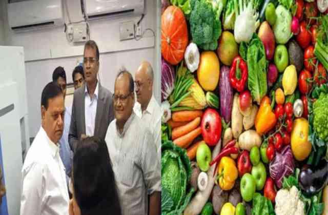 Kalicharan Saraf inaugurated four food labs