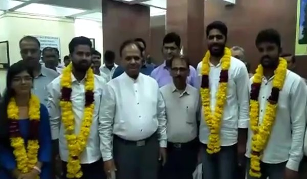 BJP's student wing abvp clean sweeps MDSU ajmer