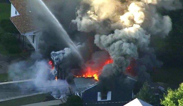 Dozens of gas blasts rock Boston suburbs, injuring at least six