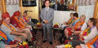 Palace on Wheels luxury tourist train by RTDC
