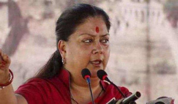 Rajasthan gaurav yatra : CM Vasundhara Raje in churu