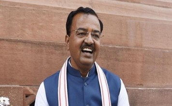 up Deputy cm Maurya asked construction of Ram temple