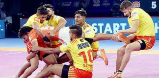 gujarat fortunegiants record easy win over Puneri Paltan