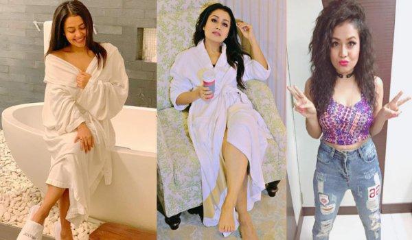 Neha Kakkar bathroom photos in qatar goes viral